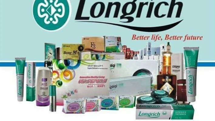 List of longrich products and functions